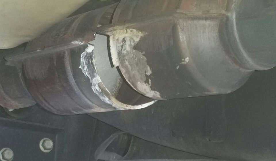 old catalytic converters