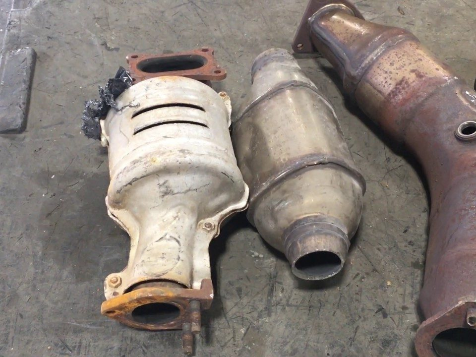 catalytic converter scrap price