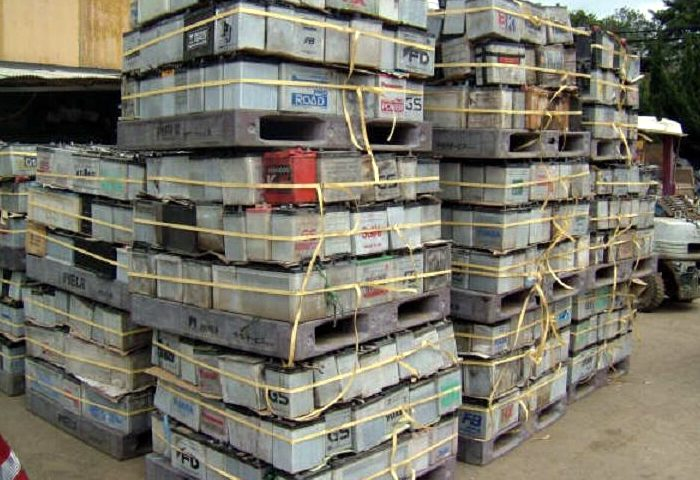 Top cash for scrap battery recycling